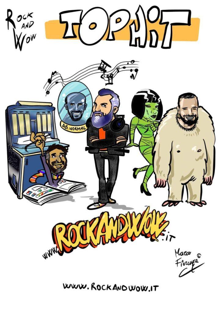 RoCkAnDwOw Top Hit 2021 Podcast Rock. Viaggio nella Storia del Rock! La Top 50 selezionata dagli ascoltatori tra i brani più gettonati del Progetto RW
