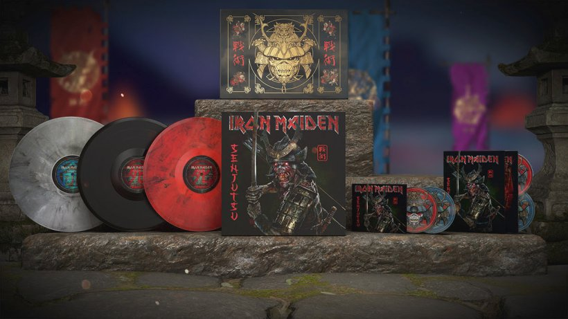 """IRON MAIDEN: NUOVO ALBUM. La metal Band ha annunciato l'uscita di """"Senjutsu"""", il nuovo LP disponibile in tutti store il prossimo 3 settembre."""